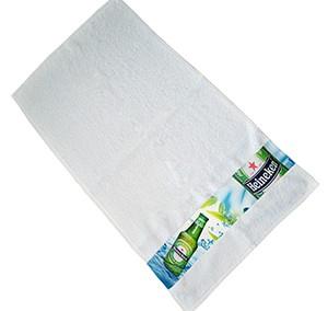 Ręcznik z zadrukowaną bordiurą