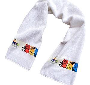 Ręcznik sportowy z bordiurą full kolor